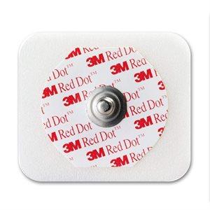 3M Red Dot Electrode, Foam Tape Backing, Sticky Gel 20Pk/Cs ( 50/ Pk)