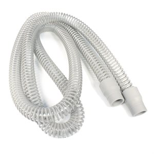 """CPAPology CPAP Tubing Grey, 22mm Diameter, 6'6"""" Length Qty 1"""