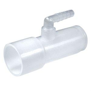 CPAPology Connector, CPAP in Line Pressure Oxgyen Enrichment, 5pk