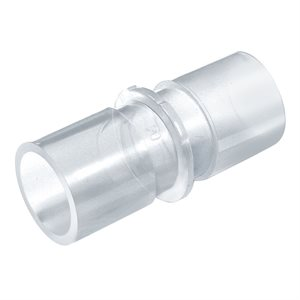 CPAPology Connector. Straight. 22mm End Fittings. 5pk