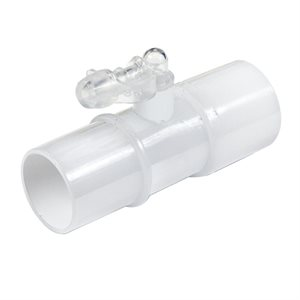 CPAPology Connector. CPAP In-Line Pressure / Oxygen Enrichment 22 MM. 5pk