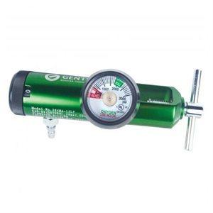 Oxygen Regulator 870 Yoke Style w/Hose Barb 0-15 lpm
