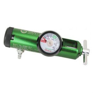 Oxygen Regulator 870 Yoke Style w/Hose Barb 0-8 lpm