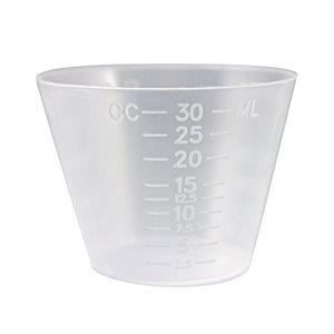 Medicine Cup 1 OZ PLASTIC Qty 50 Case ( 100 ea/Pack)