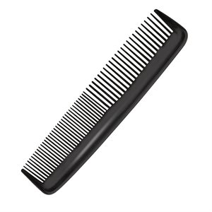 Black 8 inch comb