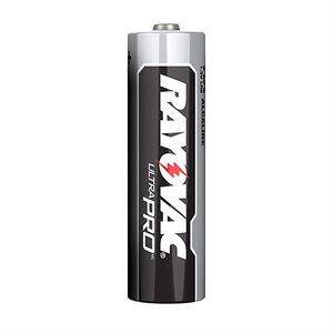 Batteries RAYOVAC Alkaline Industrial AA 8 Pk