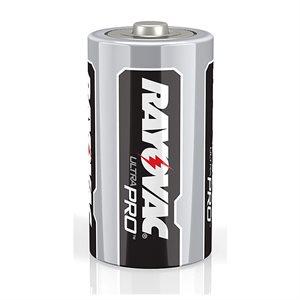 Batteries RAYOVAC Alkaline Industrial D 6. Pk