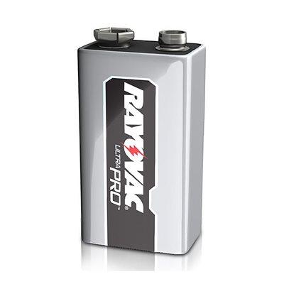Batteries RAYOVAC Alkaline Industrial 9V 6 Pk