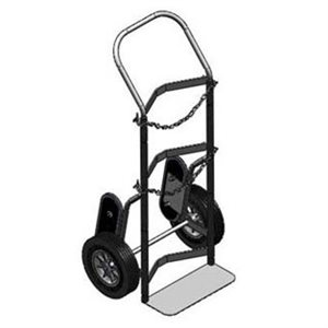 "Large Cylinder Stair Climber Cart, 14"" Base"