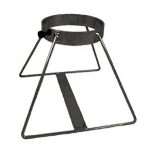 Cylinder Floor Stand, Black, E x 1, Qty 10
