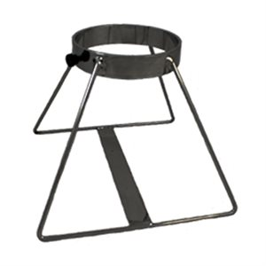 Cylinder Floor Stand, Black, E x 1, Each