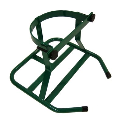 Large Cylinder Stand, Green, M/H x 1, Each
