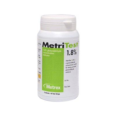 METRITEST 1.8% 28 Day Test Strips, 60 Strips /Bottle, Each