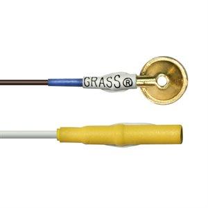"""EEG. Grass Gold. 10 mm. Yellow. 72"""".10 Pk"""