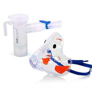 PARI, LC Plus Reusable Nebulizer/Bubbles the Fish Mask. Qty 12