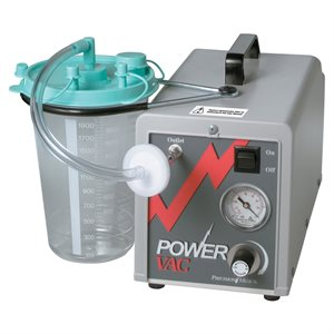 Power Vac Aspirator with 2000cc canister