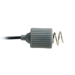 """Rhythmlink Disp. Corkscrew Needle Electrode, .6 mm (23 g.), lead 1.5 m (60"""") 6 colour Qty 12"""