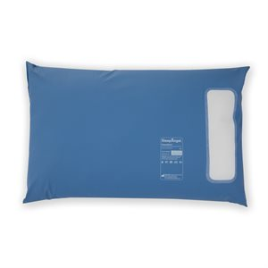 SleepAngel Medical Express Standard Fibre Pillow, Blue, 46 x 71