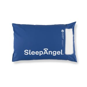 SleepAngel Medical Microfibre Pillow, Blue, 50 x 70 cm