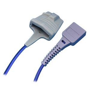 SleepSense Pediatric Soft-Tip SpO2 Sensor NONIN Compatible 300cm Qty 1