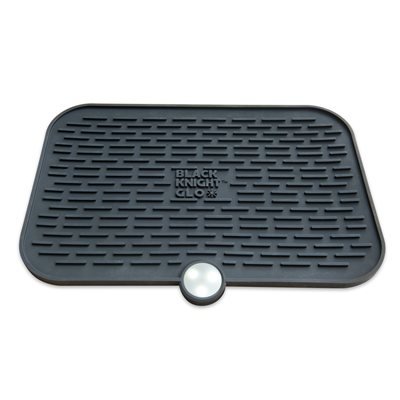 CPAPology Black Knight GLO Protector Mat, Black